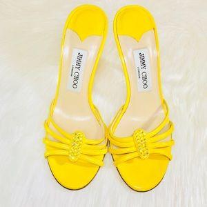 JIMMYCHOO Canary Swarovski Heels!